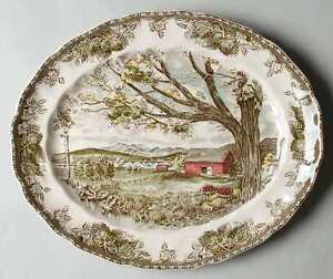 Johnson Brothers - 'The Friendly Village' - Oval Platter