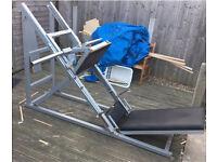 Commercial gym equipment leg press