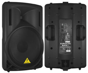 2 speakers Behringer B215D