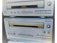 Technics SC HD 501 - Cassette Deck and CD Deck.