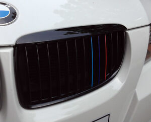 2-X-Sets-BMW-Grill-M-tec-Performance-vinyl-sticker-e36-e46-e90-e60-F01-1-7-serie