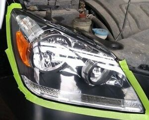 HEADLIGHT RESTORATION, THE BEST, + UV PROTECTION