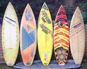 80's retro surfboards $70-$90 Belmont North Lake Macquarie Area Preview