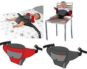 Phil & Teds Wriggle Wrapper Portable High Chair, Brand New