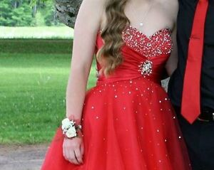 Red Semi/Prom dress for sale