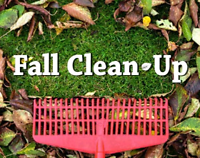 Fall Cleanup, Raking , Mowing and Yard Work