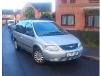 Chrysler Voyager - 2003 - 8 months MOT