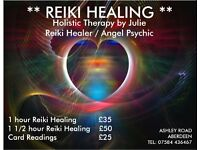Reiki Healing Therapy - Reiki treats the whole person including body, emotions, mind & spirit.