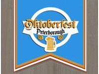 Bar work Oktoberfest Peterborough 13th and 14th October