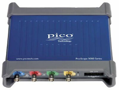 Pico 3403d Mso Picoscope Pc Oscilloscope Mso 416 Channels With Fgawg 50 Mhz