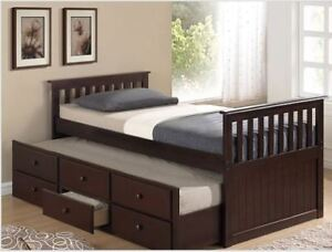 IMPORTED AND ASHLEY SINGLE BED ONLY SALE!!!