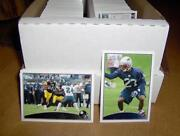 Large Football Card Lot