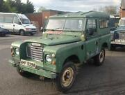 Land Rover Tax Exempt