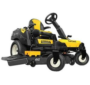 2016 Cub Cadet Z-Force SZ60 Zero Turn Mower