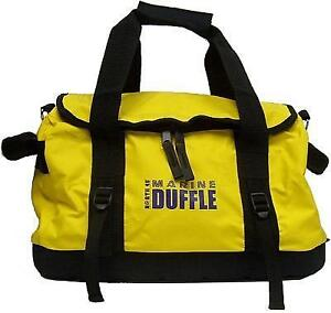 New MARINE DUFFLE BAGS - WATER RESISTANT TO KEEP YOUR GEAR DRY IN WET LOCATIONS!