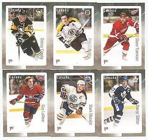 2016 Canada Post Hockey Stamp Set of 6