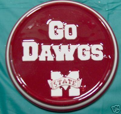 Mississippi State Bulldogs Ceramic (MISSISSIPPI STATE UNIVERSITY BULLDOGS CERAMIC PLAQUE )