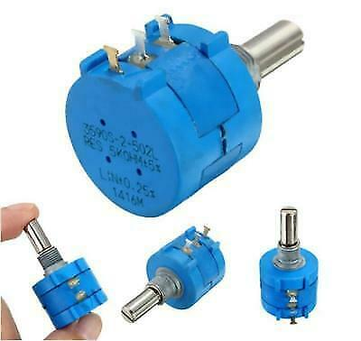 2x 5k Ohm 3590s-2-502l Adjustable Precision Multi-turn Potentiometer Power 2w