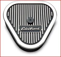 Edelbrock - Elite Series Air Cleaners Triangle 3'' element