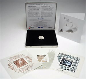 Millennium (2000) Coin & Stamps Keepsake issued by Canada Post