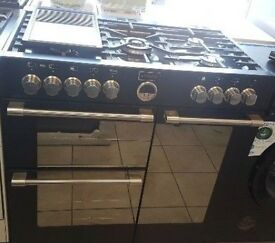 Stoves Sterling 900DFT Dual Fuel Range Cooker with Warranty
