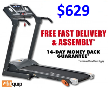 HAVE YOUR NEW TREADMILL INSTALLED TODAY! FOR ONLY $11 P/WK