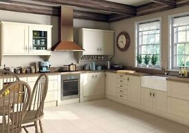 Cream Shaker Country Style Kitchen