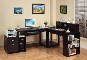 Peyton 4-Piece Desk Package from the Brick