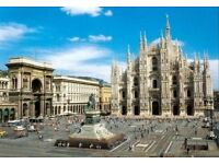 4 flight tickets Liverpool - Milan 23.DEC