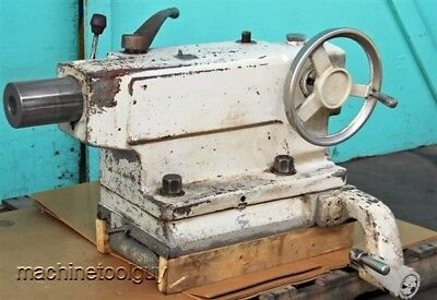 Lodge Shipley 2-speed Tailstock For 28 Lathe 5 Mt Taper