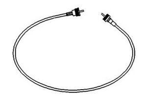 150938r91 new case ih tractor tachometer tach cable 340. Black Bedroom Furniture Sets. Home Design Ideas