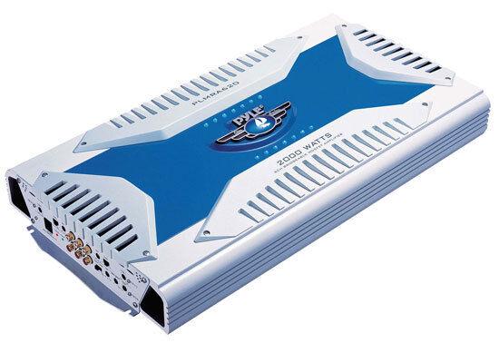 New PLMRA620 6 Channel 2000 Watt Waterproof Marine Bridgeable Mosfet Amplifier