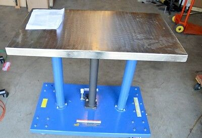Vestil Hydraulic Post Table - Ht-10-2036a - 1000 Lb Capacity