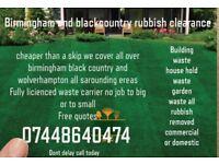 Rubbish clearance cheaper than a skip waste disposal