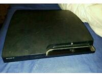 Ps3 slim 500gb fully working with box and no wires and no controller