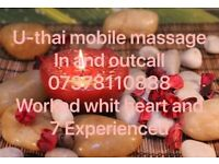 U-Thai mobile massage in and outcall.