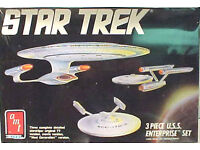 Vintage STAR TREK USS Excellsior Model Kit-AMT ERTL-FREE S/&H STMO-6630