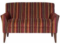 John Lewis Sinatra Snuggler Sofa - Cinnamon Stripe (RRP £699)