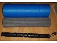 Pro Fitness 3-in-1 Foam Roller