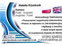Angielski - Pomoc