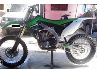 Kawasaki kxf450 2014