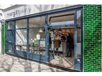 Barista for sourdough bakery and cafe in East Finchley.
