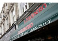 Pizzaiolo/Pasta Cook required for immediate start