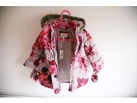 Winter coat debenhams john rocha 2-3years NEW!