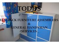 Todds Flat-Pack Furniture & Handyman services