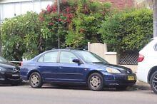 2001 Honda Civic Sedan Bondi Eastern Suburbs Preview