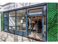 Baker and Pastry Chef for Sourdough Bakery in East Finchley.