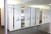 Industrial Moving Shelving