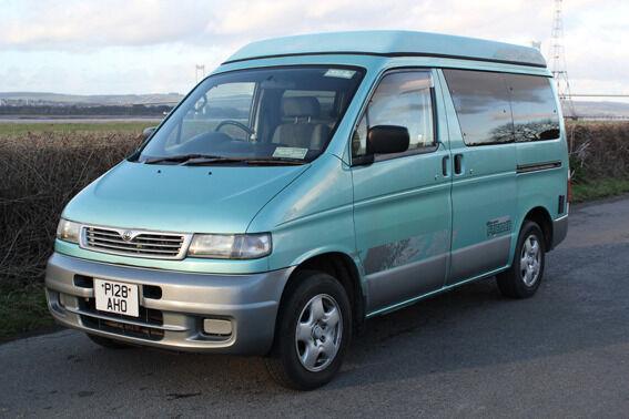 Mazda Bongo 1996 25 Diesel Imperial Car Company Rear Portland Conversion Campervan MOT Until Feb