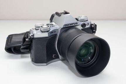 Olympus OM-D E-M5II + 25mm/f1.7 + Olympus Battery Grip VGC